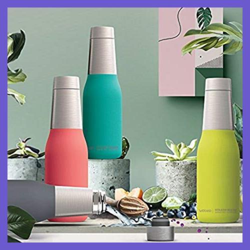 Asobu Insulated Double Walled 20Oz Water Bottle