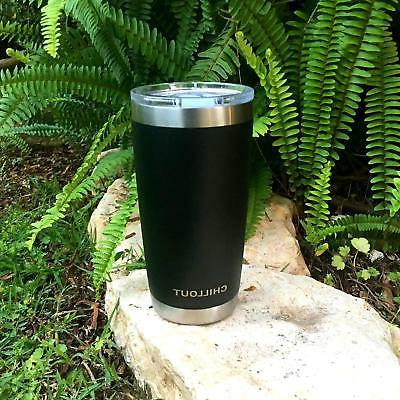 Travel Mug Stainless Steel Tumbler Coffee Vacuum Cup 20 oz P