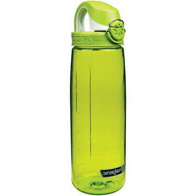 Nalgene Tritan OTF Water Bottle: 24oz; Spring Green