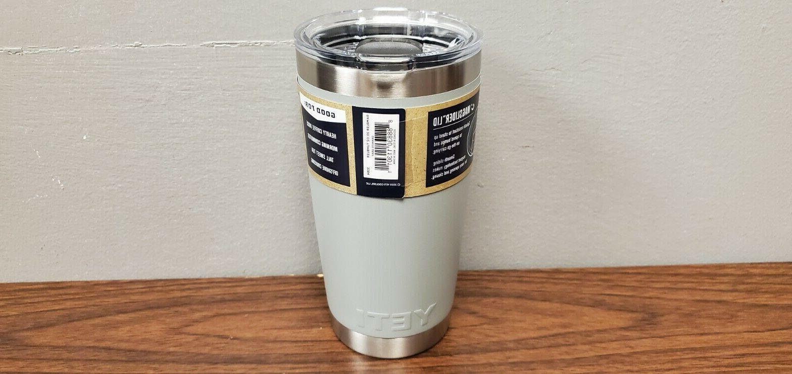 YETI Rambler 30 oz Stainless Steel Vacuum Insulated Tumbler,