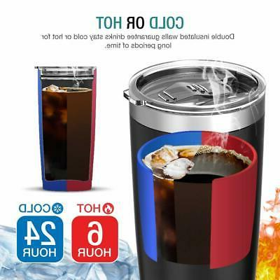 Jura Water Tumbler Steel Vacuum Insulated with Lids 20 oz