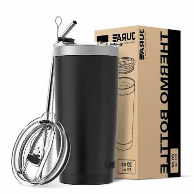 Jura Tumbler Stainless Steel Vacuum Insulated with Lids oz