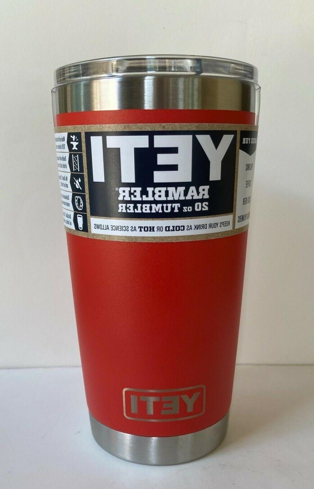 YETI 20 , Stainless Steel Vacuum Insulated with Li