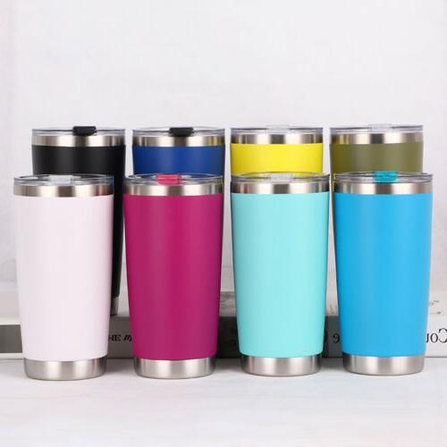 US 20oz Stainless Steel Vacuum Tumbler Travel Flask