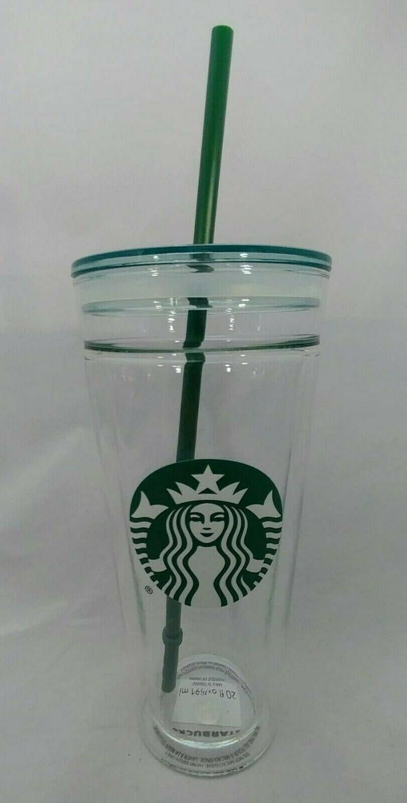Starbucks Venti Double Wall Cold Cup Tumbler New,