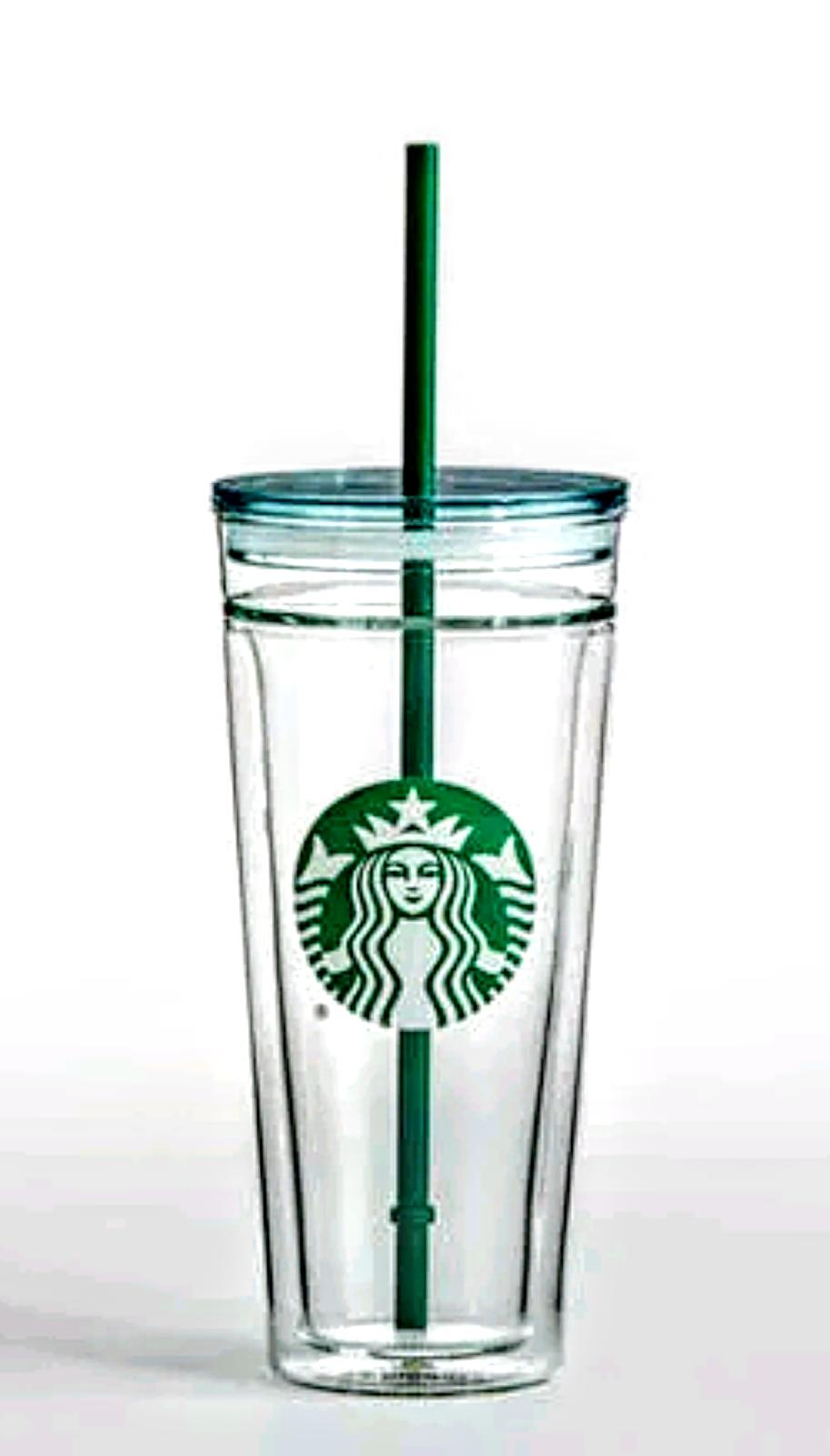venti clear glass double wall cold cup