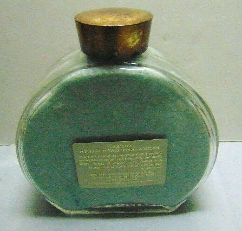 VTG ARPEGE Emollient Perfume 20 oz Glass Bottle -