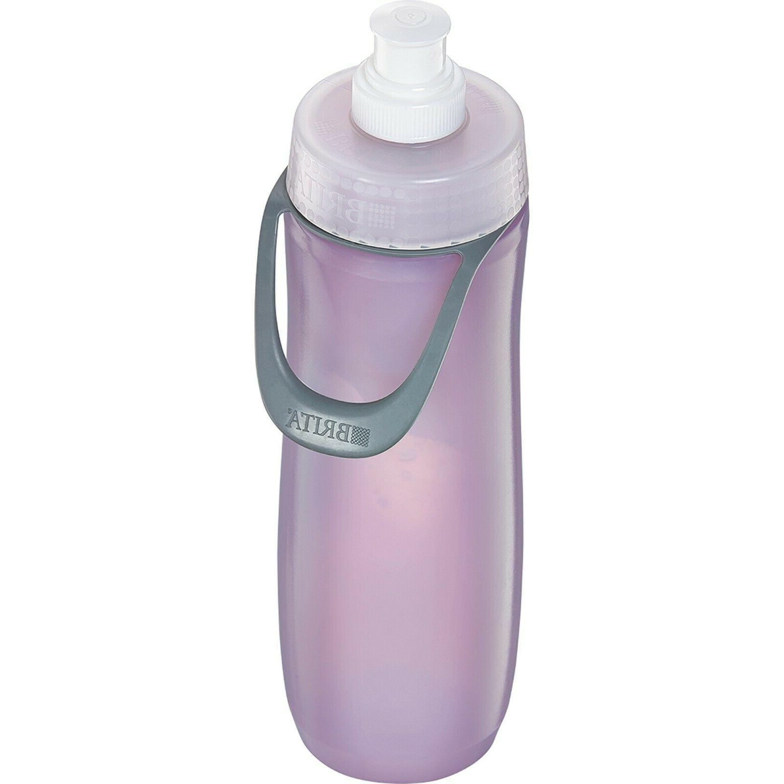 Brita Sport Water Filter Bottle, Mod Columns, 20 Ounce
