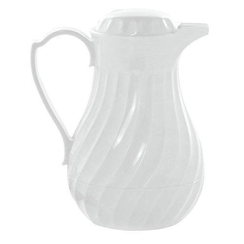 white thermal coffee carafe