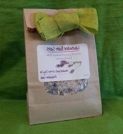lavender bath salts all natural relaxation soak
