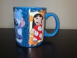 Disney Lilo Stitch Angel Scrump 20 Oz Coffee Cup Mug NEW
