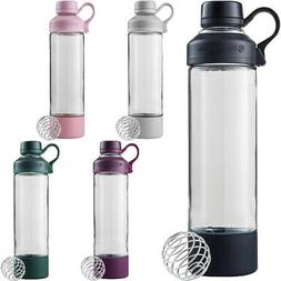 Blender Bottle Mantra 20 oz. Glass Shaker Mixer Cup with Loo