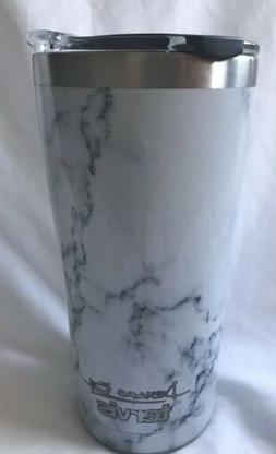 Tervis - Marble Swirl 20oz Stainless Steel Tumbler With Flip