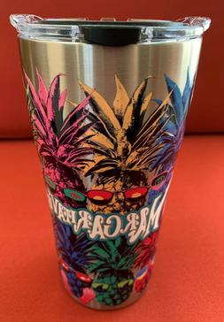 MARGARITAVILLE PINEAPPLE ~ STAINLESS STEEL 20 oz TERVIS TUMB