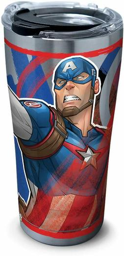 Tervis - Marvel - Captain America 20oz Stainless Steel Tumbl