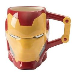 Marvel Iron-Man 20 oz. Sculpted Ceramic Mug Tony Stark MCU C