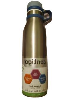 Contigo Matterhorn Water Bottle, 20 oz, Stainless Steel with