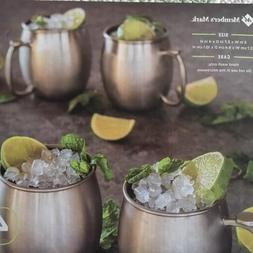 Member's Mark 20 oz. Moscow Mule Mugs Brushed Silver
