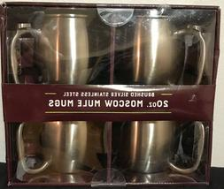 Member's Mark Brushed Stainless Steel 20 oz Moscow Mule Mugs