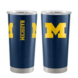 Michigan Wolverines 20oz Ultra Navy Tumbler NCAA Boelter Bra