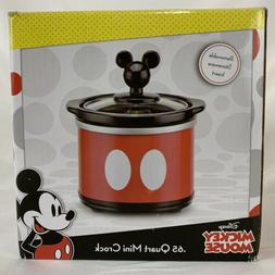 Disney Mickey Mouse Mini Dipper .65 Quart Mini Crock Pot