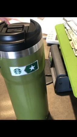 Starbucks Military  Stainless Steel Thermal Coffee Tumbler T
