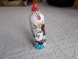 minnie mouse cartoon and friends water bottle