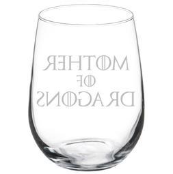Mother Of Dragons Stemmed 10oz / 20oz / Stemless Wine Glass