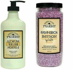 Village Naturals Muscle Aches/Pains Relief Lotion & Mineral