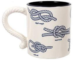 DEI 20 Ounce Nautical Knots Mug