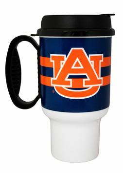 NCAA Auburn Tigers Striped Insulated Travel Mug 20oz Tumbler