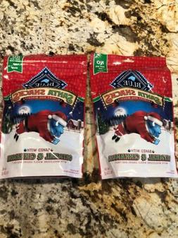New 2 Blue Buffalo Dog Biscuits Snacks Oatmeal Cinnamon 8 oz
