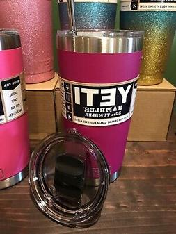 new 20oz stainless steel tumbler raspberry