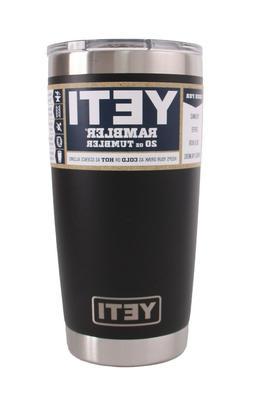 New Authentic Yeti Rambler 20 oz Tumbler - MagSlider Lid - S
