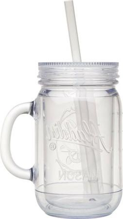 NEW Aladdin Classic Clear Insulated Mason Tumbler 20oz