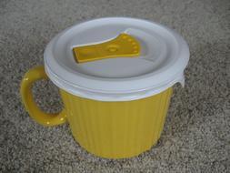 NEW Corningware Colours 20oz Stoneware Yellow Soup Mug Vente
