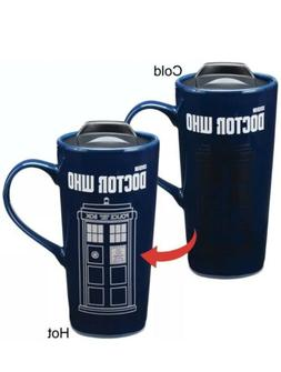 NEW Doctor Who TARDIS Time Machine Heat Reactive 20-oz Ceram