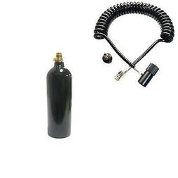 NEW Empire 20oz CO2 Paintball Tank Heavy Duty Coil Remote Ho