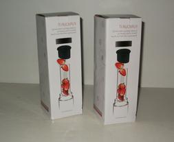 New Asobu FLAVOR IT Glass 20 oz Water Bottle Fruit Infuser L