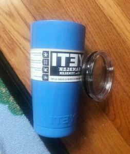 new powder coated 20 oz blue mug