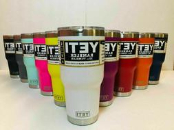 New YETI Rambler 20 OZ 30 OZ Tumbler with Lid All Colors Hot