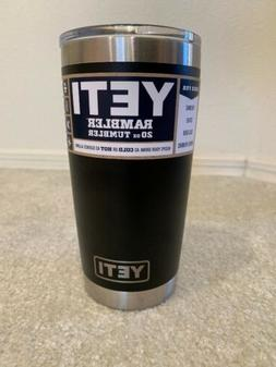 New Yeti Rambler 20 oz Insulated Tumbler Stainless Steel Vac