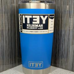 New Yeti Rambler 20oz Tahoe Blue ~ FREE SHIPPING! New In Box
