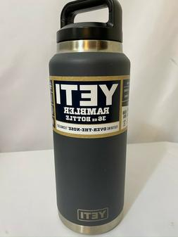 NEW YETI Rambler 36oz Bottle - Charcoal *FREE SHIPPING*