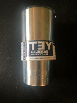 New Yeti Rambler Tumbler 20oz Stainless Steel Tumbler with L