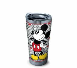 NEW Stainless Steel Tervis Mickey Mouse, 20oz with lid