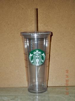 """NEW"" Starbucks Tumblers To Go 20 oz. Double-Wal Acrylic Col"