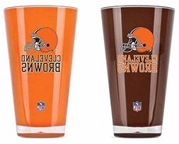 NFL Cleveland Browns 20-Ounce Insulated Tumbler - 2 Pack
