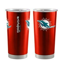 NFL Miami Dolphins Travel Tumbler 20oz Ultra Boelter Brands