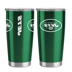 NFL New York Jets Travel Tumbler - 20 oz Ultra by Boelter Br